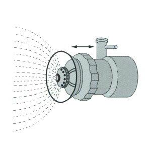 【KIORITZ/共立】背負動力散布機アタッチメント ミスト装置『DMAM800-13L』 13Lタンク付〈品番P021-004328〉