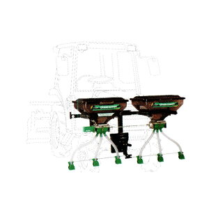 【TAISHO/タイショー】肥料散布機 グランドソワー『UX-110F-GP』 フロントタイプ[粒状肥料 土壌改良剤 有機ペレット 砂状肥料]