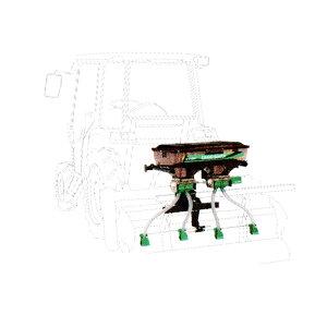 【TAISHO/タイショー】肥料散布機 グランドソワー『UX-70R』 リアタイプ[粒状肥料 土壌改良剤 有機ペレット 砂状肥料]