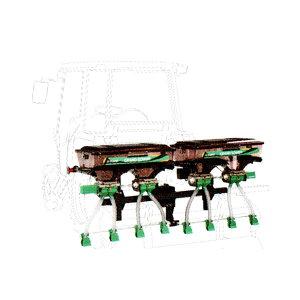 【TAISHO/タイショー】肥料散布機 グランドソワー『UX-140R』 リアタイプ[粒状肥料 土壌改良剤 有機ペレット 砂状肥料]