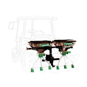 【TAISHO/タイショー】肥料散布機 グランドソワー『UX-110R-GP』 リアタイプ[粒状肥料 土壌改良剤 有機ペレット 砂状肥料]
