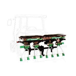 【TAISHO/タイショー】肥料散布機 グランドソワー『UX-140R-GP』 リアタイプ[粒状肥料 土壌改良剤 有機ペレット 砂状肥料]