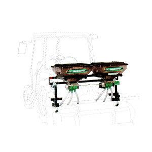 【TAISHO/タイショー】肥料散布機 グランドソワー『UX-110MT-GP』 マウントタイプ[粒状肥料 土壌改良剤 有機ペレット 砂状肥料]