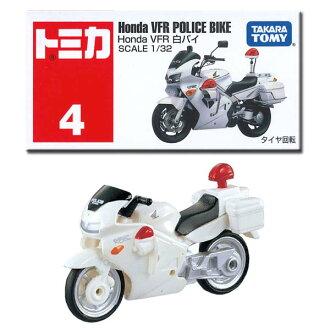 04. tomica HondaVFR white police motorcycle