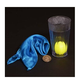 グラスを抜けるシルクとコイン DP-o6953 手品用品 マジック用品