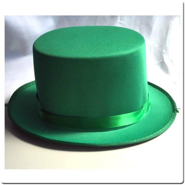 シルクハット グリーン プレイアベニュー パーティーグッズ 帽子 ハット