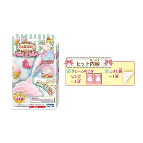 しゅわボム 別売りクリームのこな ピンク SB-05〔セガトイズ〕