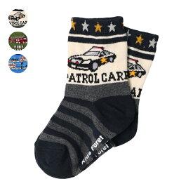 【子供服】 Daddy Oh Daddy (ダディオダディ) 星条旗柄クルーソックス・靴下 14cm〜23cm B57305