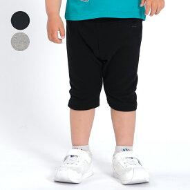 【子供服】 moujonjon (ムージョンジョン) 日本製リップルフライス6分丈パンツ 80cm〜130cm M43180