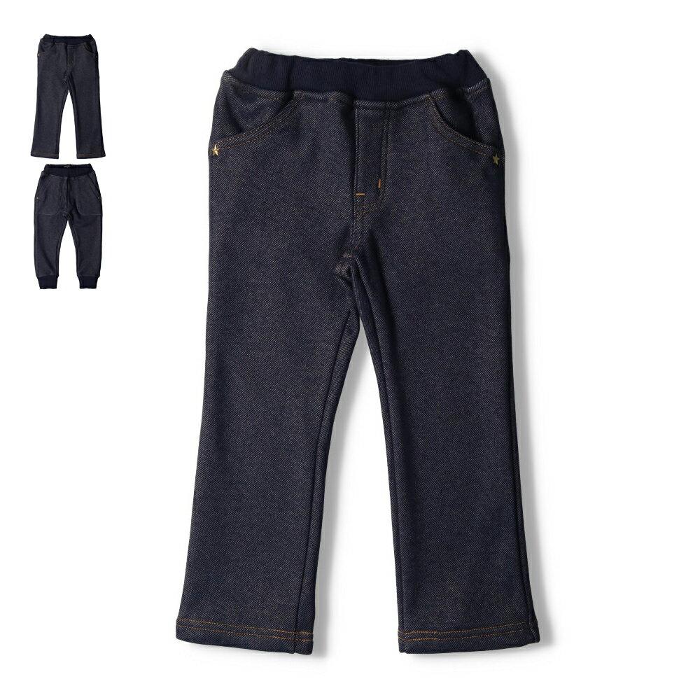Daddy Oh Daddy (ダディオダディ) 星柄・無地デニムニットスキニーパンツ 80cm〜130cm V57022