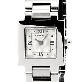 ショーメ CHAUMET スティルドゥ シルバー文字盤 クォーツ レディース腕時計