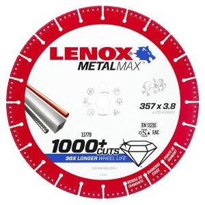 """【送料無料】LENOX メタルマックス 14""""エンジンカッター用 357X30.5X3.7mm(品番:2005500)"""