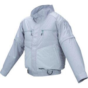 【即納】【送料無料】マキタ 充電式ファンジャケット チタン加工+ポリエステル 立ち襟モデル フルハーネス安全帯対応 LLサイズ(品番:FJ404DZLL)