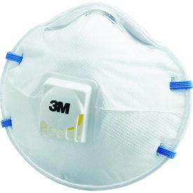 3M 使い捨て式防じんマスク 8805 DS2 排気弁付き (10枚入) (品番:8805 DS2)『3739767』防じんマスク
