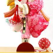 羽子板初正月8号新初音(桜)赤塗りケースHGBK-31M-282019年度お正月お祝い押絵羽子板ケースセットコンパクトケース飾り省スペース羽子板飾り(はごいたhagoita)出産祝いお正月飾り
