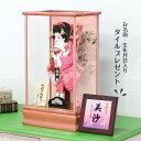 羽子板 初正月 10号 小桜A パールピンク塗り 10-2 HGBK-KS-10 2020年度 お正月 お祝い 押絵羽子板 ケースセット コン…