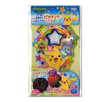 """""""pikachu許多""""供煙火使用的感到奇怪的蟲子眼鏡神奇寶貝majikkumeganehorosupekku(進入袋子)"""
