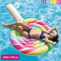 フロートINTEX(インテックス)ロリポップフロート(キャンディー)208×135cm/swm-fl-58753子供〜大人用フロートナイトプール可愛い大きい【あす楽対応】etc