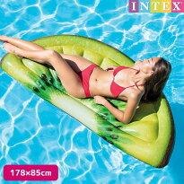 フロートINTEX(インテックス)キーウィスライスマット(キウイ)178×85cm/swm-fl-58764子供〜大人用フロートナイトプール可愛い大きい【あす楽対応】etc