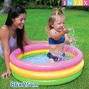 プール 『 サンセットグロー ベビープール 86cm×25cm 』 INTEX(インテックス)対象年齢:1歳〜3歳まで 商品番号:swm-…