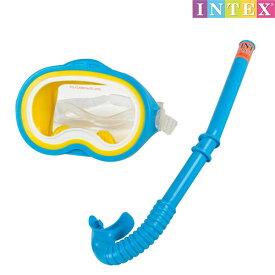 水中眼鏡 アドベンチャー スイムセット 対象年齢:8歳以上 SWM-PT-55942INTEX (インテックス) ゴーグル 水中メガネ 子供用 【あす楽対応】 etc