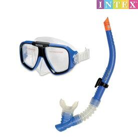 水中眼鏡 リーフライダースイムセット 対象年齢:8歳以上 SWM-PT-55948INTEX (インテックス) ゴーグル 水中メガネ 子供用 【あす楽対応】 etc