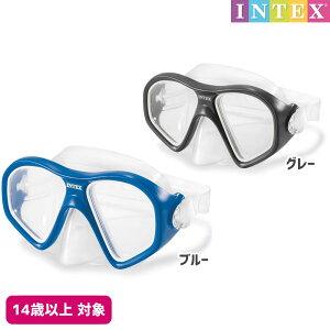 水中眼鏡 リーフライダーマスク 対象年齢:14歳以上 SWM-PT-55977INTEX (インテックス) ゴーグル 水中メガネ 子供用 大人用 【あす楽対応】 etc