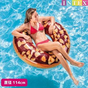 浮き輪 ナッティチョコレートドーナッツチューブ (ドーナツ) 直径114cm 対象年齢:9歳以上 SWM-UK-56262INTEX (インテックス) 子供用 大人用 うきわ 浮輪 うき輪 【あす楽対応】 etc
