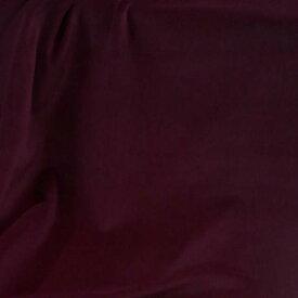 17番 マルーンレッド 【国産 貫八綾織 別珍 生地】手芸/ハンドメイド/アンティーク/和雑貨/カーテン生地/三味線袋【注意;アゾ染料不使用ですが、染色過程でにアゾ化するため衣料へのご利用をお避け下さい/現在健康被害の報告はございません】