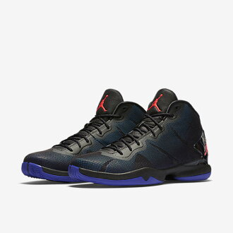 huge discount 44e86 1919a Nike Superfly Jordan 4 black / infra red 23 / Concord blue