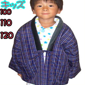 キッズ はんてん 子供 ルームウェア 男児 着る毛布 100 110 120 男の子 どてら ちゃんちゃんこ