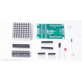 Arduino互換 DIY MAX7219 赤 LED ドットマトリックスディスプレイ