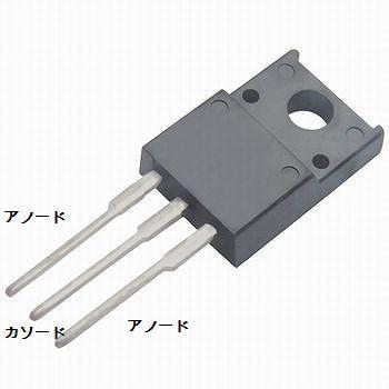 サンケン電気 電源整流ダイオード 200V/10A 【FMM-22S】