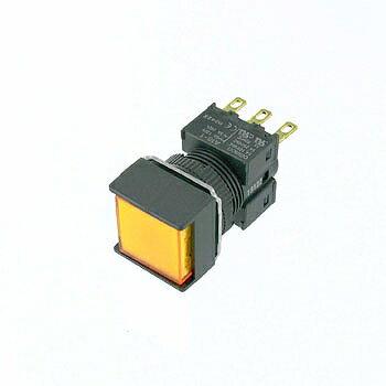 OMRON 正方形押しボタンスイッチ 【A16-AYM-1】