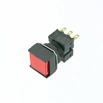 OMRON 正方形押しボタンスイッチ 【A16-ARM-1】