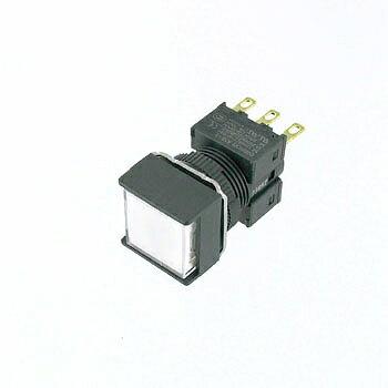 OMRON 正方形押しボタンスイッチ 【A16-AWM-1】
