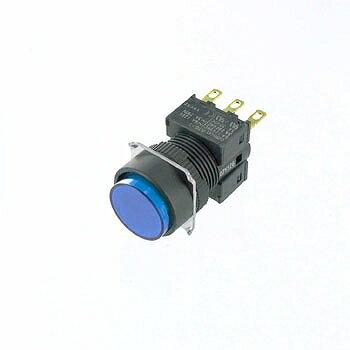 OMRON 丸形押しボタンスイッチ 【A16-TAM-1】