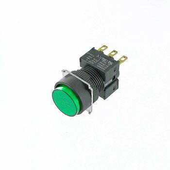 OMRON 丸形押しボタンスイッチ 【A16-TGM-1】