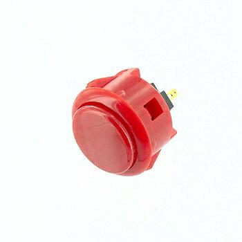 三和電子 押しボタンスイッチ 赤 【OBSF-30 R】