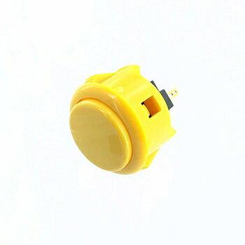 三和電子 押しボタンスイッチ 黄 【OBSF-30 Y】