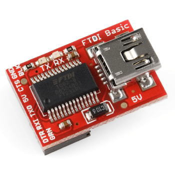 Arduino FTDI Basic Breakout - 5V 【DEV-09716】