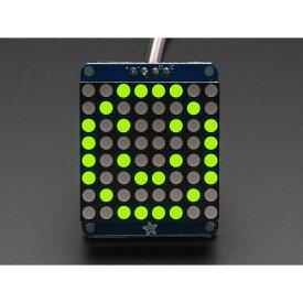 Adafruit 1.2インチLEDマトリックス基板(緑色) 【1051】