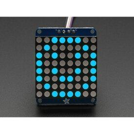 Adafruit 1.2インチLEDマトリックス基板(青色) 【1052】