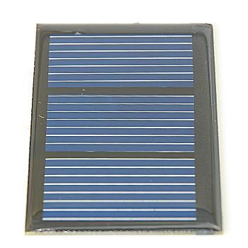 ノーブランド品 太陽電池モジュール 1.5V 250mA 【SB-1.5V250MA】
