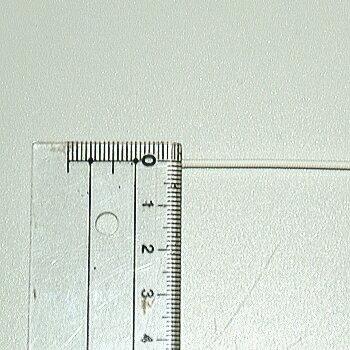 クラベ 耐熱ガラスチューブ1mm 【HG-3E 1.0mm】