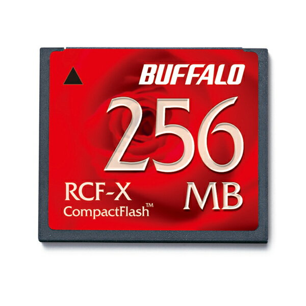 バッファロー コンパクトフラッシュ256MB 【RCF-X256MY】