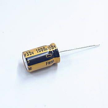 ニチコン アルミ電解コンデンサー(オーディオ用標準品)50V 10μF 【UFW1H100MDD】