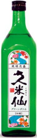 琉球泡盛 久米仙 グリーンボトル30度 720ml