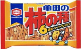 亀田製菓 亀田の柿の種6袋詰