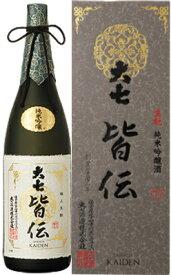 大七 皆伝 生もと造り 純米吟醸 1800ml 日本酒 清酒 1.8L
